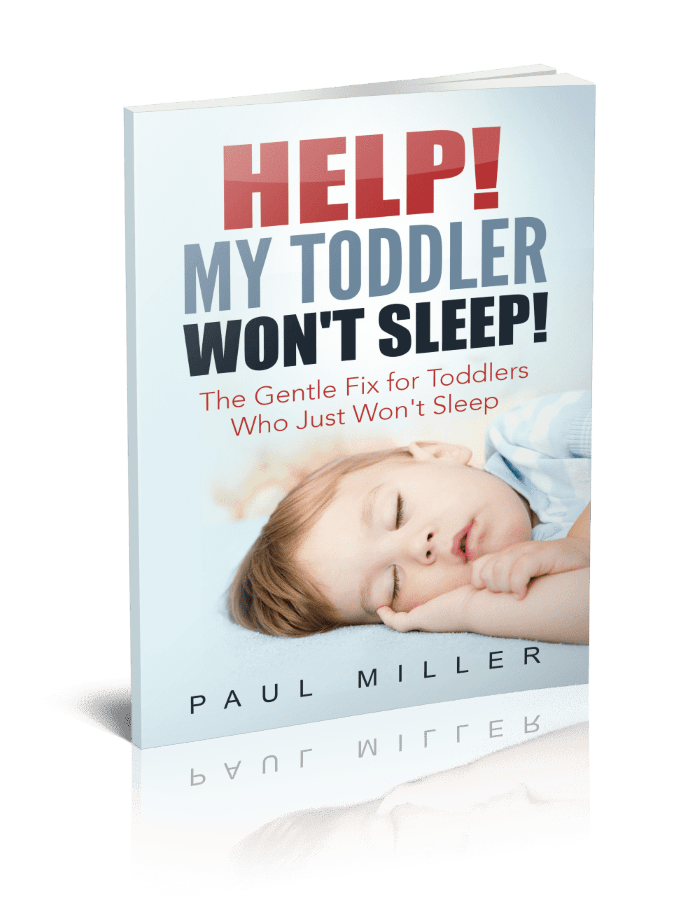 """Cover of book """"Help! My Toddler Won't Sleep!"""""""